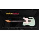 Micheluttis Telecaster Surf Green Light Aged Flame Maple Neck 2016 Brand New Amazing Boutique Guitar