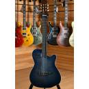Godin ACS Nylon Denim Blue Flame LTD with Hard Case