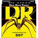 DR STRINGS DROP-DOWN TUNING DDT5-55 MUTA BASSO 5 CORDE  55-135 SPEDITO GRATIS!