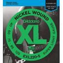 Daddario - EXL220-5 Long Scale 40-125