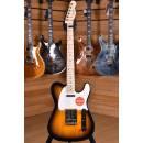 Squier (by Fender) Affinity Telecaster Maple Fingerboard 2 Color Sunburst