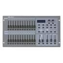 SHOWTEC SC-2412 CENTRALINA LUCI MIDI DMX 24 CANALI PATCHABILI E 2 CANALI AUX