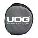 UDG Headphone Bag Steel Grey - Orange Inside - Disponibile in 2-4 giorni