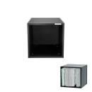 BOX IN LEGNO PER 110 VINILI NERO GLORIOUS Record Box 110 Black