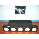 ACCECATORE / BLINDER LED COB DA 30W X 5 RGB FULL COLOR LIGHTPLANET LP530BLINDER