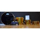 "DW Drums Collector's Stainless Gold Lacquer ""SSC"" 24,13,16,14x6.5 +SUPER OMAGGIO"