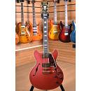 D'Angelico Deluxe DC Limited Edition Finishes Stopbar Matte Cherry