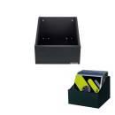 BOX IN LEGNO PER 110 VINILI NERO GLORIOUS Record Box 110 Advanced Black