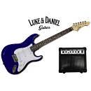 Luke & Daniel BP100kitBLS - Kit basso elettrico con amplificatore custodia tracolla
