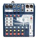SOUNDCRAFT NOTEPAD-8FX MIXER 8 CANALI USB EFFETTI LEXICON PHANTOM POWER +48V 2 MIC INPUT