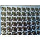 transistor- led-condensatori-resistenze- integrati- stock