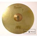 "MEINL BYZANCE VINTAGE SAND CRASH RIDE 22"" ""HAND SELECTED"" - B22SACR - PIATTO CRASH RIDE CON RIVETTI"