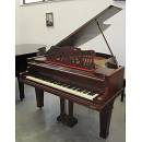 CLEMENS PIANOFORTE A CODA NOCE SATINATO + PANCHETTA