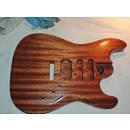 Factory Guitars: lavorazioni  body Stratocaster e Telecaster