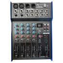 EXTREME MX802XDU MIXER 4 CANALI COMPATTO PER LIVE PHANTOM POWER +48V OUT XLR + EFFETTI DSP + USB