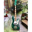 Buttarini Flametone Jazz Bass 1970 Candy Apple Green