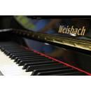 Weisbach 118JS con sistema silent - nero - pianoforte acustico verticale