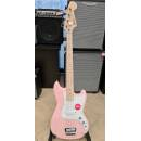 SQUIER Affinity Series Bronco Bass Shell Pink