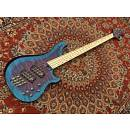 Bnj Guitars Vanguard 4 Fanned Fret Multiscale Reverse Blueberry Burst
