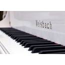 Weisbach 118JS con sistema silent - bianco - pianoforte acustico verticale