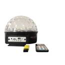 Extreme CRYSTAL BALL 91-MP3 EFFETTO LUCE LED MAGIC 9x1W SOUND ACTIVE