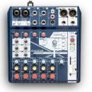 SOUNDCRAFT NOTEPAD 8FX MIXER ANALOGICO USB 8 CANALI CON EFFETTI VOCE