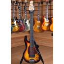 Lakland Skyline 55-02 Standard Fretless Rosewood Fingerboard 3 Tone Sunburst