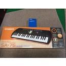 CASIO SA-76 Tastiera con 44 Minitasti con Alimentatore Casio