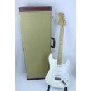 Fender Jimi Hendrix Stratocaster Chitarra elettrica, Olympic White + Custodia rigida
