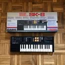 Casio SK-8 sampling keyboard anni '80 con scatola originale! Spedizione inclusa!