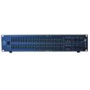 EXTREME EQ3102XL EQUALIZZATORE GRAFICO A RACK PROFESSIONALE 2x31 BANDE FADER 20MM XLR OUT +/-12DB