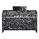 Yamaha CLP625B SATIN BLACK PIANOFORTE DIGITALE