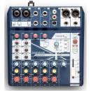 mixer analogico SOUNDCRAFT NOTEPAD 8FX