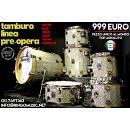 TAMBURO LINEA 18 8 10 12 14 14R - 100% FAGGIO! MADE IN ITALY! IN GARANZIA UFF!
