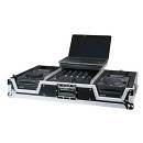 Flycase Custodia con ruote x 1 mixer 4ch e 2 lettori CDJ + vano Notebook
