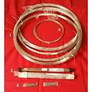 Barre tasti nickel silver, acciaio, Freet, Truss rod, Tastiere chitarra e basso