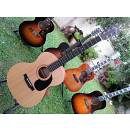 SIGMA 000ME, chitarra acustica elettrificata.