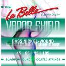 LA BELLA VAPOR SHIELD VSB4 MUTA CORDE PER BASSO ELETTRICO 4 CORDE 45/105