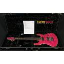 Suhr Modern Quilted Magenta Pink Stain Matched Headstock Pau Ferro Fretboard 2009 Used