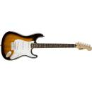 Squier by Fender Bullet Strat w/tremolo Laurel fingerboard Brown Sunburst