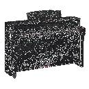 Yamaha CLP645B SATIN BLACK PIANOFORTE DIGITALE