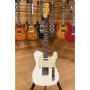 Fender Custom Shop 61 Relic Aged Olympic White Telecaster