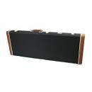 Luke & Daniel WEC6 - custodia rigida in legno per chitarra elettrica - tessuto nero