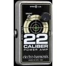 ELECTRO HARMONIX 22 CALIBER POWER AMP 22W AMPLIFICATORE A PEDALE PER CHITARRA