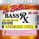 LA BELLA RX-S4D MUTA CORDE PER BASSO ELETTRICO 4 CORDE 45/105 STAINLESS STEEL ACCIAIO
