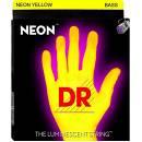 DR NYB-45 NEON .045-.105 - CORDE PER BASSO LUMINESCENTI 4 CORDE