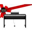 CASIO PX-S1000 BLACK IDEA REGALO - pianoforte digitale con mobile in legno, leggio e pedale