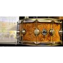 DW Drums Exotic Natural Hard Satin over Olive Ash Burl 14x7 VLT