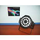 PAR A LED FULL COLOR RGBW 24X10W DI ALTISSIMA POTENZA LIGHTPLANET LP2410PARLED