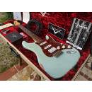 FENDER CUSTOM SHOP STRATOCASTER 62 HEAVY RELIC HSS LIMITED SONIC BLUE 19 of 50